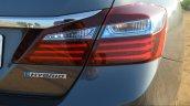 2017 Hond Accord Hybrid badge India
