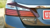 2017 Honda Accord Hybrid accord badge review