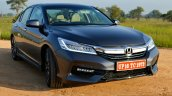 2017 Honda Accord Hybrid front quarter right review
