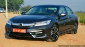 2017 Honda Accord Hybrid front three quarter left review