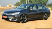 2017 Honda Accord Hybrid front three quarter review