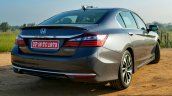 2017 Honda Accord Hybrid rear quarter review