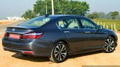2017 Honda Accord Hybrid rear three quarter review