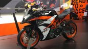 2017 KTM RC 390 new paint front quarter INTERMOT 2016