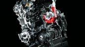 2017 Kawasaki Ninja H2 engine