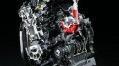 2017 Kawasaki Ninja H2R engine