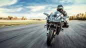 2017 Kawasaki Ninja H2R riding image