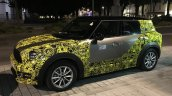 2017 MINI Countryman front three quarters left side spy shot