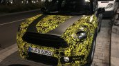 2017 MINI Countryman front three quarters spy shot