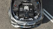 2017 Mercedes-AMG E 63 4MATIC+ engine bay