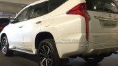 2017 Mitsubishi Shogun Sport spy shot