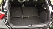 2017 Nissan Micra boot rear seats folded