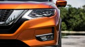 2017 Nissan Rogue (facelift) headlamp
