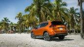 2017 Nissan Rogue (facelift) rear three quarters