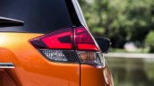 2017 Nissan Rogue (facelift) tail lamp