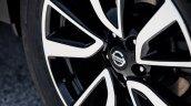 2017 Nissan Rogue (facelift) wheel design