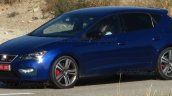 2017 Seat Leon Cupra (facelift) front three quarters spy shot