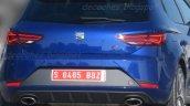 2017 Seat Leon Cupra (facelift) spy shot
