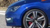 2017 Seat Leon Cupra (facelift) wheel spy shot