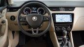 2017 Skoda Octavia (facelift) interior unveiled