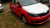 2017 Skoda Rapid facelift Red
