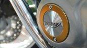 2017 Triumph Bonneville T100 'Triumph' branding