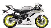2017 Yamaha YZF-R6 Intensity White-Matte Silver profile