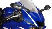 2017 Yamaha YZF-R6 front fascia