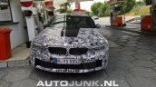 2018 BMW M5 front spy shot