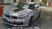 2018 BMW M5 front three quarters spy shot