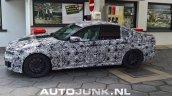 2018 BMW M5 left side spy shot