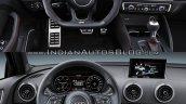 Audi RS 3 Sedan vs. Audi A3 Sedan interior