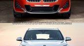 BMW X2 vs. BMW X1 front image