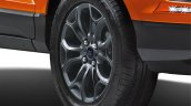 Ford EcoSport Black Signature Edition black alloy wheels