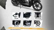 Honda Beat Street Accessories