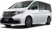 Honda StepWGN Modulo X Kit front launched Japan