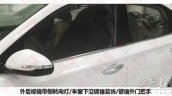 Hyundai Celesta sedan window  spied
