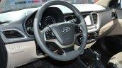 Hyundai Verna RV steering debut