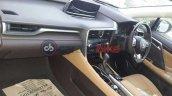 Lexus RX 450H hybrid interior in India
