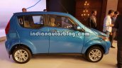 Mahindra e2o Plus side profile live image
