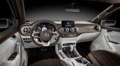 Mercedes-Benz Concept X-CLASS stylish explorer interior dashboard
