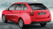 Proton Saga Aeroback rear three quarters rendering