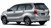 South African-spec Toyota Avanza rear three quarters