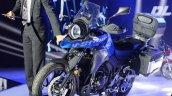 Suzuki DL250 (V-Strom 250) concept front three quarters debut event