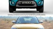 Suzuki Vitara vs Maruti Suzuki Vitara Brezza front