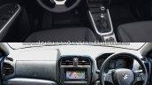 Suzuki Vitara vs Maruti Suzuki Vitara Brezza interior