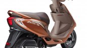 TVS Scooty Zest 110 Himalayan Highs Edition rear three quarters