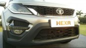 Tata Hexa TUFF bumper accessories