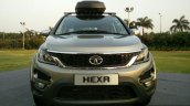 Tata Hexa TUFF front accessories