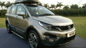 Tata Hexa TUFF front quarter accessories
